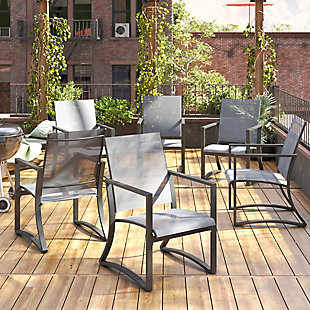 COSCO Outdoor Living COSCO Outdoor Furniture, Patio Dining Chair (Set of 6), , large