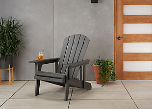 TRINITY EcoStorage® Outdoor Reclining Adirondack Chair, , rollover