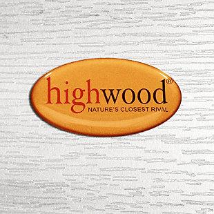 Highwood® Lehigh Outdoor Garden Chair, White, large