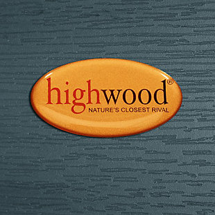 Highwood® Adirondack Outdoor Coffee Table, Nantucket Blue, large