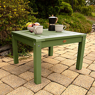 Highwood® Adirondack Outdoor Side Table, Dried Sage, rollover