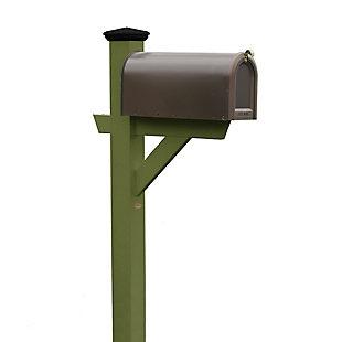 Highwood® Hazleton Outdoor Mailbox Post, Dried Sage, large