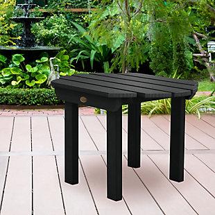 Highwood® Classic Westport Outdoor Side Table, Black, rollover