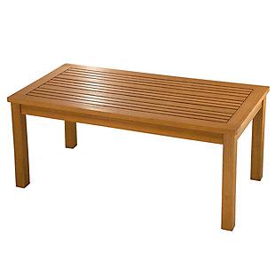 National Tree Company Eucalyptus Grandis Wood Coffee Table, , large