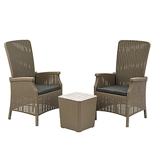 National Tree Company Bracknell 3-Piece All-Weather Chat Set, , large