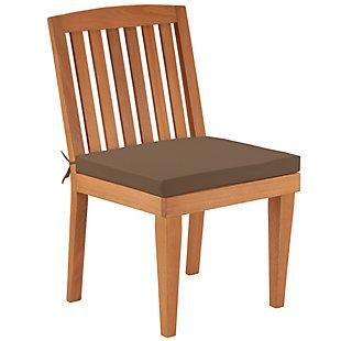 National Tree Company Eucalyptus Grandis Wood Dining Chair, , large