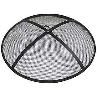 "Sunnydaze 40"" Outdoor Heavy-Duty Fire Pit Spark Screen, , large"
