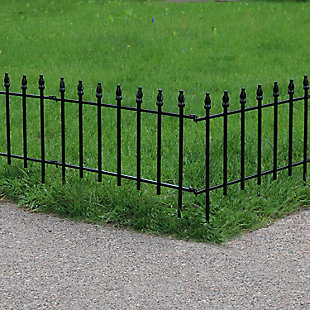 Sunnydaze Outdoor Border Fence Panels (Set of 5), , rollover