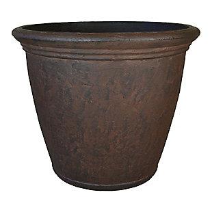 "Sunnydaze 16"" Outdoor Anjelica Flower Pot Planter, , large"