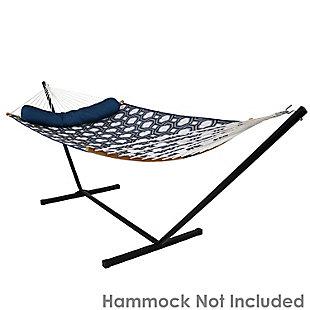 Sunnydaze Outdoor Heavy Duty Hammock Stand 400lb Capacity, , large