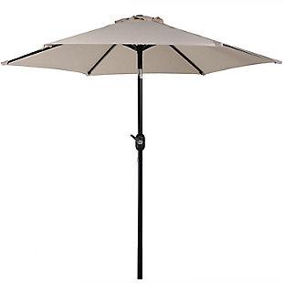 Sunnydaze 7.5' Outdoor Aluminum Patio Umbrella, , large