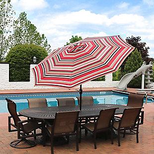 Sunnydaze 9' Outdoor Patio Umbrella, , rollover