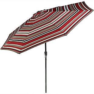Sunnydaze 9' Outdoor Patio Umbrella, , large