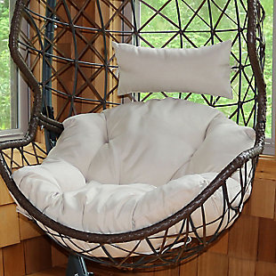 Sunnydaze Outdoor Replacement Seat and Headrest Cushion, , rollover