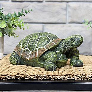 Sunnydaze Outdoor Terrance the Tortoise Garden Statue (Set of 2), , rollover