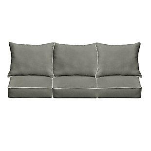 Mozaic Sofa Cushion Set, Gray, large