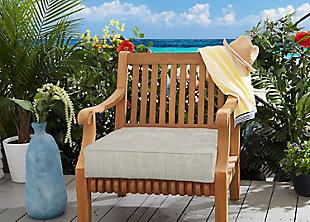 Mozaic Outdoor Cushion, Gray, rollover