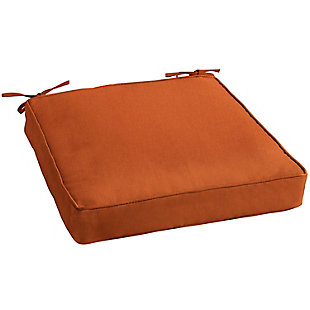 Mozaic Outdoor Cushion, Rust, large