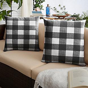 Mozaic Outdoor Pillows (Set of 2), , rollover