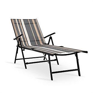 Nuu Garden  Outdoor Textilene Chaise Lounger, , large