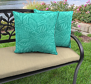 """Jordan Manufacturing Outdoor 17"""" Accessory Throw Pillows (Set of 2), , rollover"""