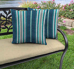 """Jordan Manufacturing Outdoor 20"""" Accessory Throw Pillows (Set of 2), , rollover"""