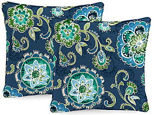 """Jordan Manufacturing Outdoor 24"""" Accessory Throw Pillows (Set of 2), , rollover"""