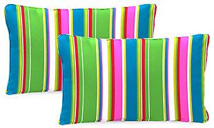 """Jordan Manufacturing Outdoor 20""""x13"""" Lumbar Accessory Throw Pillows (Set of 2), , rollover"""