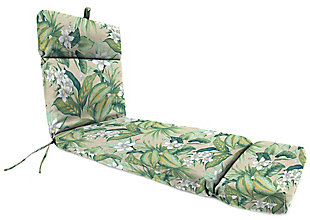 Jordan Manufacturing Outdoor French Edge Chaise Lounge Cushion, , large