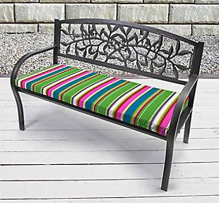 "Jordan Manufacturing Outdoor 48"" Bench Cushion, , rollover"