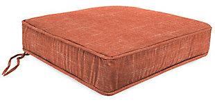 Jordan Manufacturing Outdoor Boxed Edge Deep Seat Cushion, Tory Sunset, large
