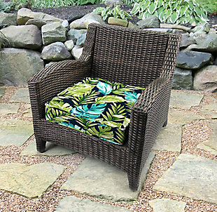 "Jordan Manufacturing Outdoor 22.5"" Boxed Edge Deep Seat Cushion, , rollover"