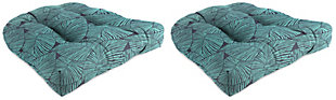 """Jordan Manufacturing Outdoor 18"""" Wicker Chair Cushions (Set of 2), , large"""