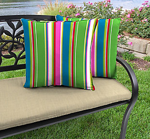 """Jordan Manufacturing Outdoor 18"""" Accessory Throw Pillows (Set of 2), , rollover"""