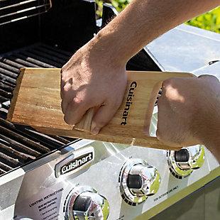 Cuisinart Outdoor BBQ Wood Grill Scraper, , rollover