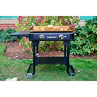 """Cuisinart 28"""" Outdoor Gas Griddle Folds Flat for Tabletop and Tailgate Use, , rollover"""