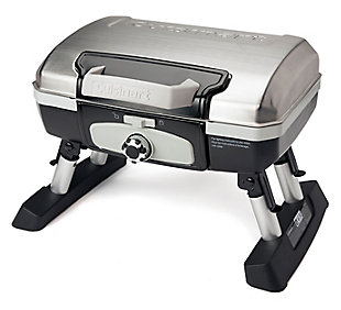 Cuisinart Petit Gourmet Outdoor Portable Tabletop LP Gas Grill, , large