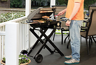 Cuisinart Outdoor All Foods Roll-Away Portable Outdoor LP Gas Grill, , rollover
