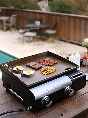 Cuisinart Outdoor Gourmet Two-Burner Outdoor Gas Griddle, , rollover