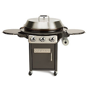 """Cuisinart 30"""" Outdoor Deluxe Griddle Cooking Center with 2 Folding Prep Tables and 1 Paper Towel Holder, , large"""