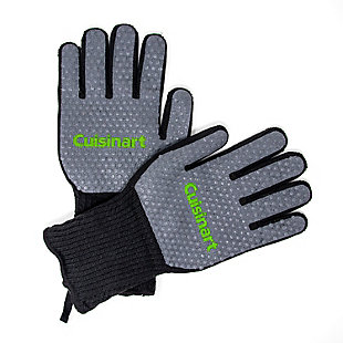 Cuisinart Outdoor Full Coverage Heat Resistant Grill Gloves, , large