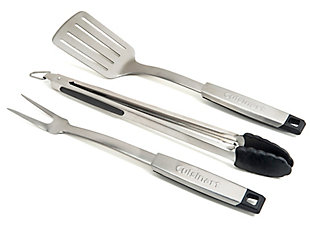 Cuisinart 3-Piece Outdoor Professional Grill Tool Set, , large