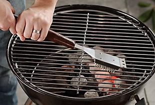 Cuisinart 18-Piece Outdoor Wooden Handle Grilling Set, , large