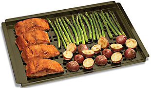 """Cuisinart Outdoor Simply Grilling Non-stick 12"""" x 16"""" Grilling Platter, , rollover"""