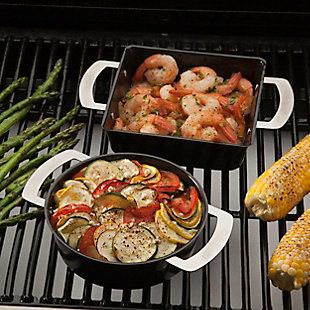 Cuisinart 2-Pack Outdoor Tapas Grilling Topper, , rollover