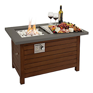 Cuisinart Outdoor Patio Fire Pit Table, , rollover