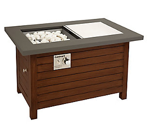 Cuisinart Outdoor Patio Fire Pit Table, , large
