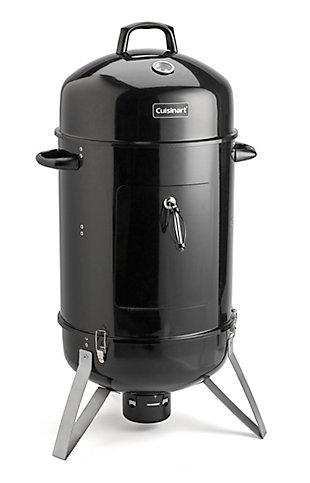 "Cuisinart 16"" Outdoor Vertical Charcoal Smoker, , large"