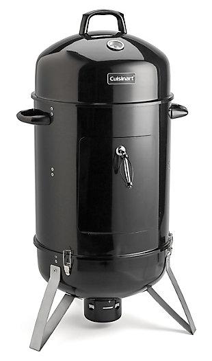 "Cuisinart 18"" Outdoor Vertical Charcoal Smoker, , large"