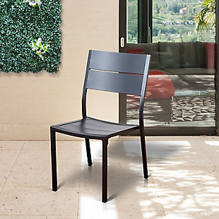 International Home Miami 4-Piece Outdoor Patio Side chairs, , rollover